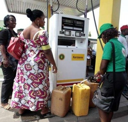 Kerosene prices drops by 18.77 percent in february