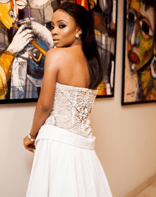 Media Personality and Author Toke Makinwa Steps Out Beautifully To Her Book Launch