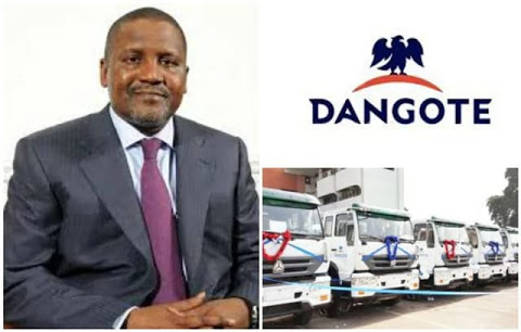 missing 3.5 million tyres: Dangote declares 285 drivers wanted