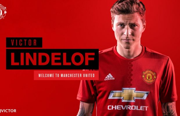 Manchester United announce Lindelof signing