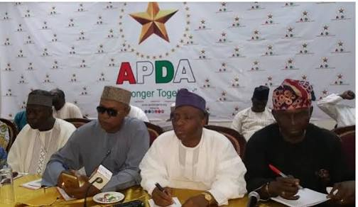 NCC says APDA is not linked to PDP