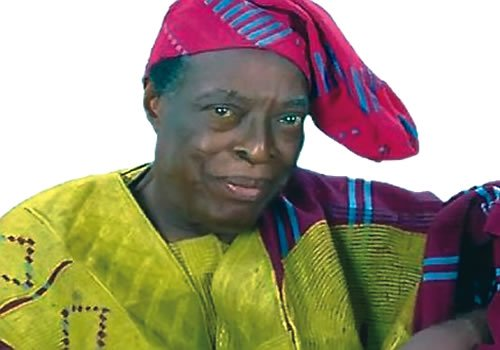 Veteran actor Adebayo Faleti is dead