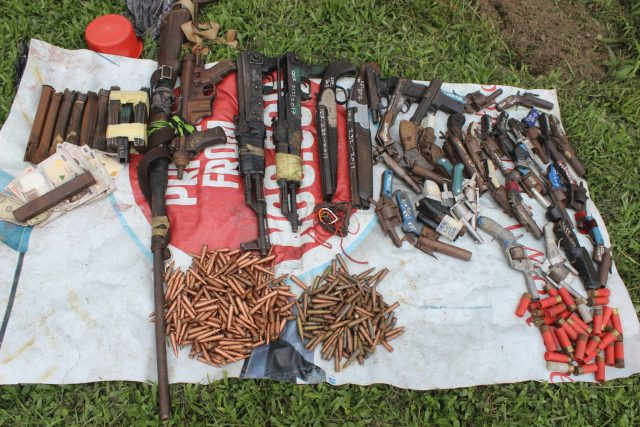 Rivers State: Police arrests 30 Cultists, 18 kidnappers, Lady with 342 rounds of live ammunition concealed in shoes (Pictures)