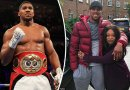 Anthony Joshua Mother Reveals Why She doesnt watch His Fights