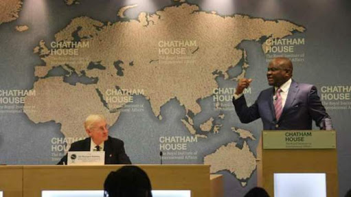 Gov Wike's lecture @ the Chatham House, London