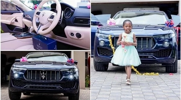 Birthday gift: Famous Pastor gives daughter Maserati Levante worth N27m