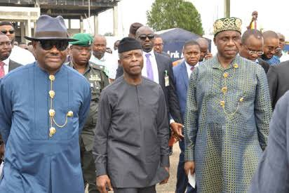 Wike's comic, bizarre season of commissioning of Amaechi's projects – Straightening the facts by an insider