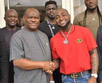 Davido, Wike enter into pact (see details)