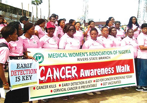 Rivers M.W.A.N Take Cancer Awareness Campaign To Markets