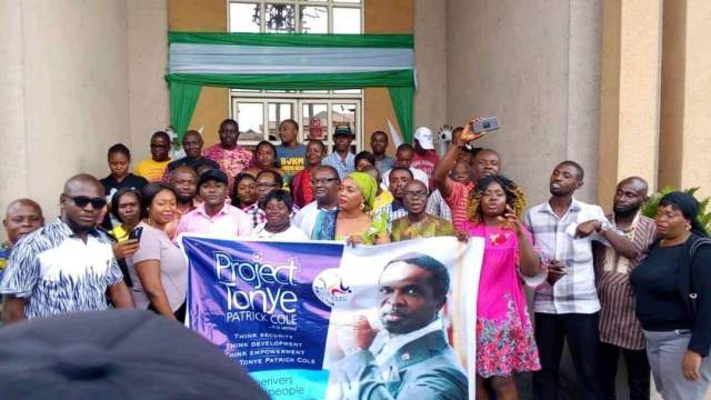 LGA Coordinators of Project Tonye Patrick Cole charged to liberate Rivers people (Photos)