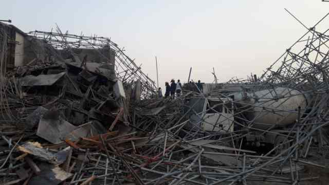 Storey Building Under Construction Collapse In Rivers State