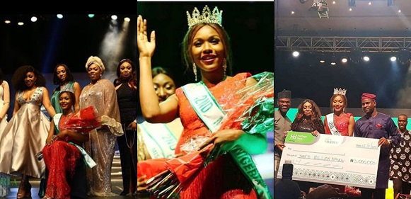 Chidinma Leilani Aaron Crowned Miss Nigeria 2018 (Photos)
