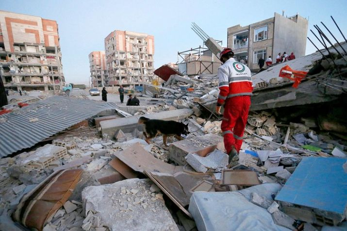 Over 600 injured as Earthquake rocks Iran