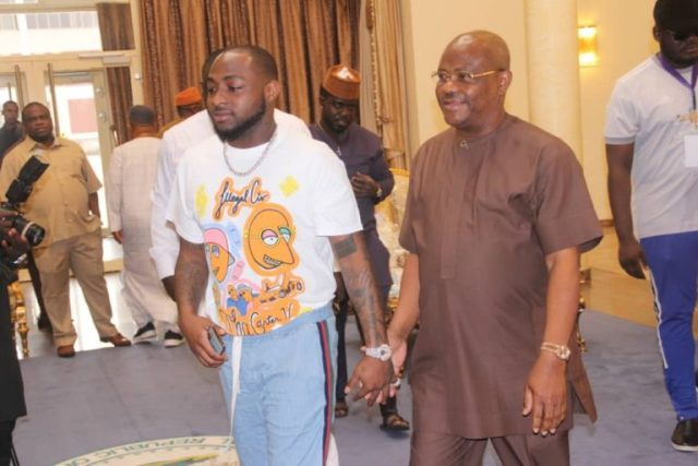 Davido Sets Up Talent Hunt Show In Rivers, Calls Wike Godfather