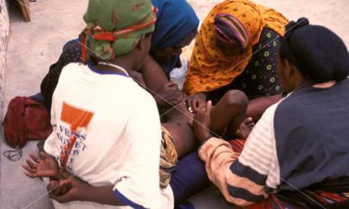Girl bleeds to death after genital mutilation in Sierra Leone.