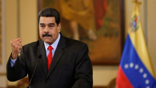 """Embattled Venezuela president calls Trumps's government a """"a gang of extremist"""""""