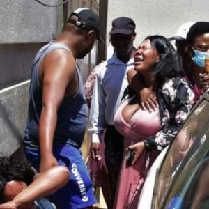 Tears Flow After Shooting At A Wedding – Pics