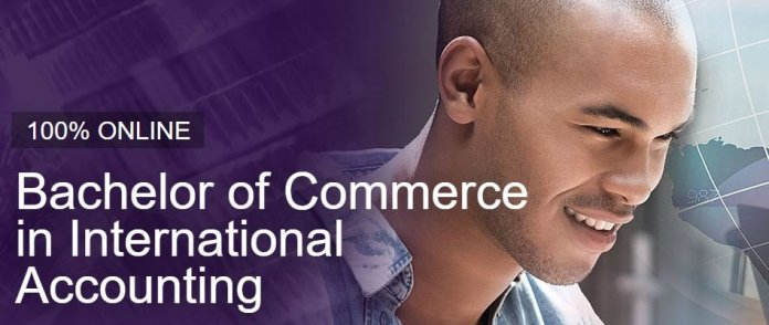 bachelor of commerce in international accounting uj online course
