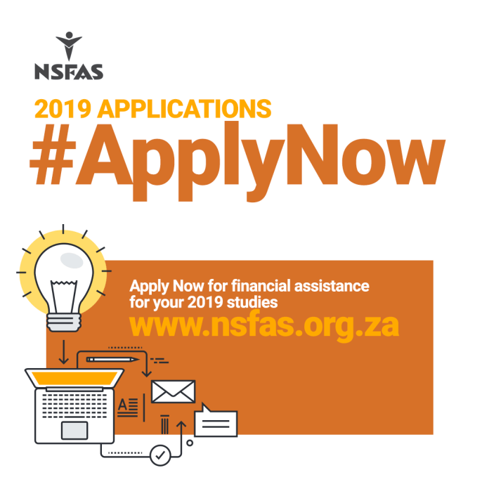 nsfas 2020 application