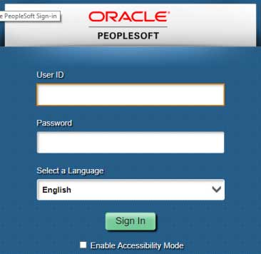 ufs peoplesoft oracle interface