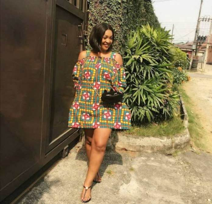 Ankara short gowns with sandals