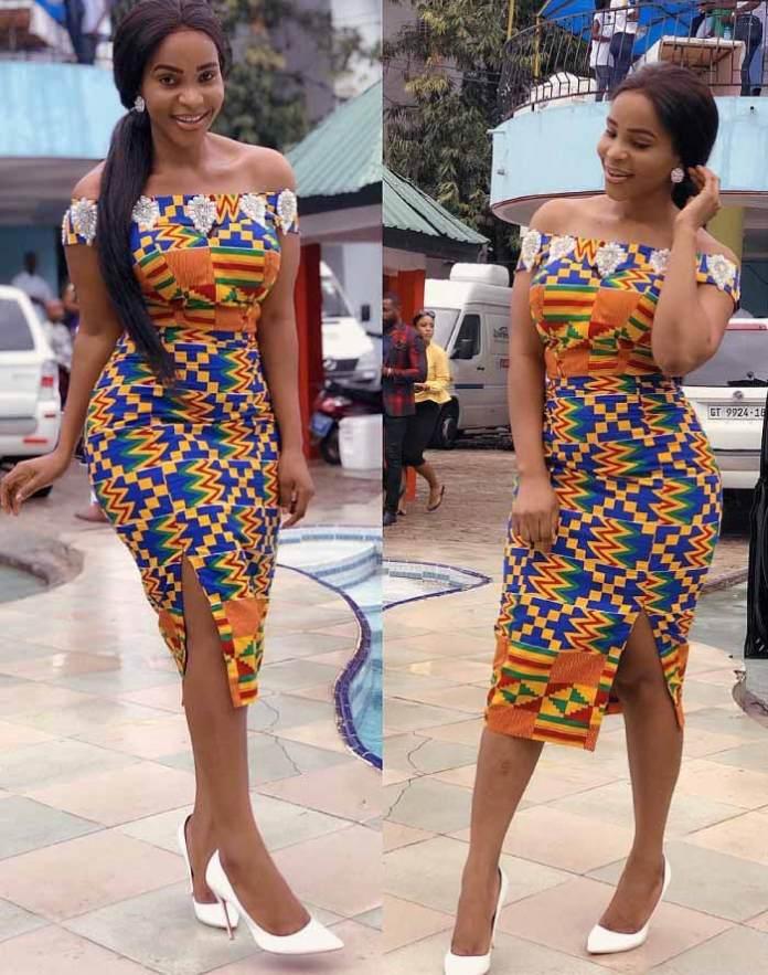 Benedicta gafah african print dress