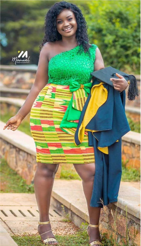 Kente styles for graduation
