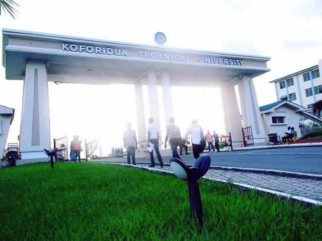 Koforidua Technical University students portal