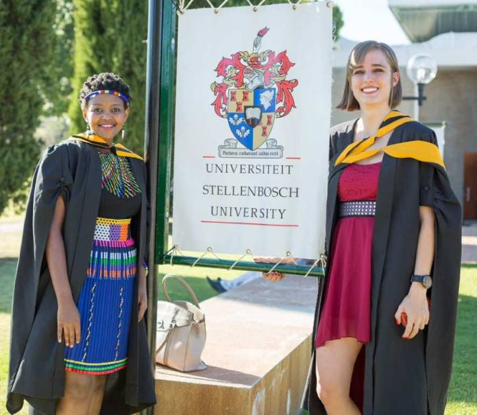 stellenbosch university graduation