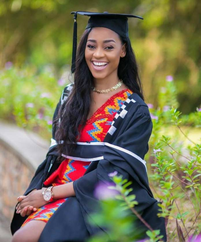 graduation kente dress pic