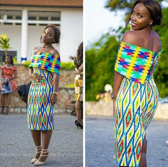 kente dress style for graduation