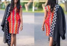 kente graduation dress
