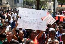 unisa students protest