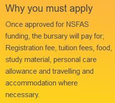 nsfas funding