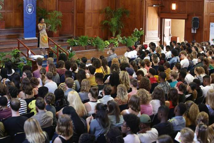 uct international students welcome address 2019