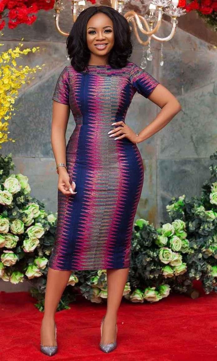 Serwaa Amihere in kente dress
