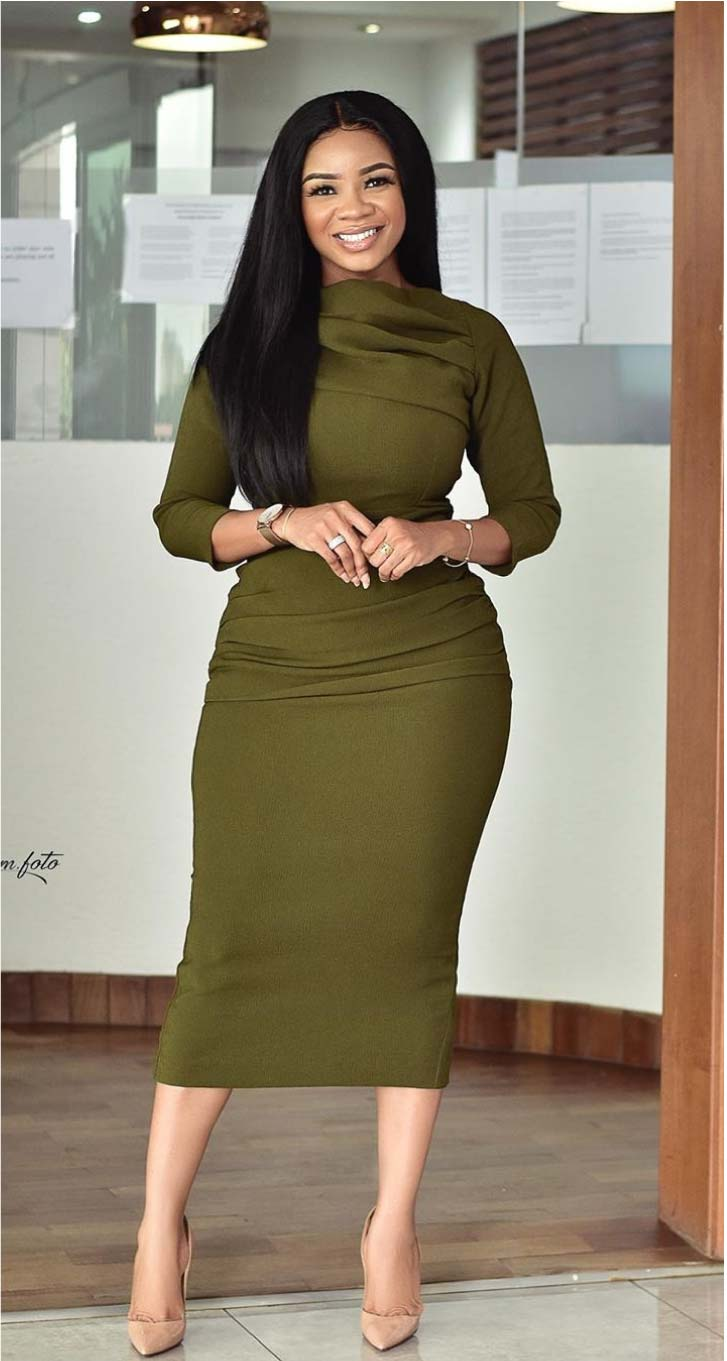 Serwaa Amihere office outfits