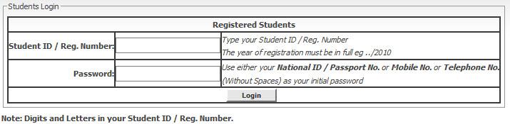Mku Student Portal: Login and Guide - studentportal mku ac ke