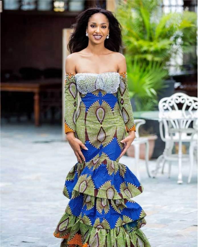 GTP fashion long gown dress