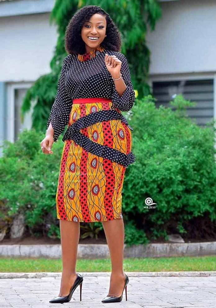 Anita Akuffo in African print