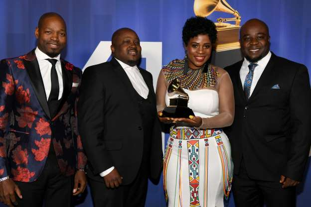 Soweto Gospel Choir carts 3rd grammy award