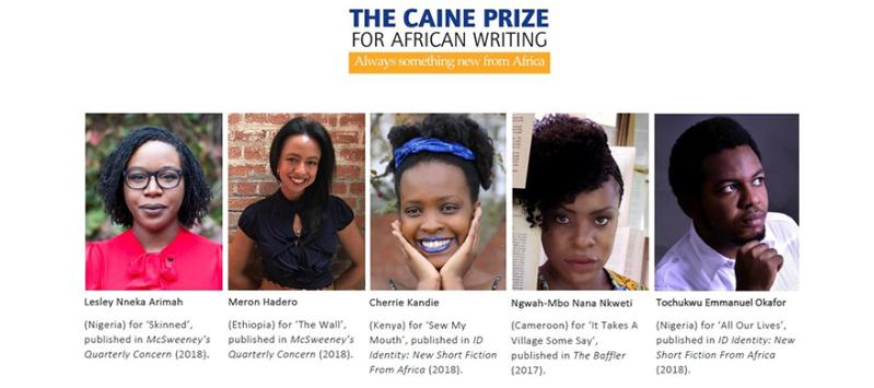 Caine Prize Shortlist