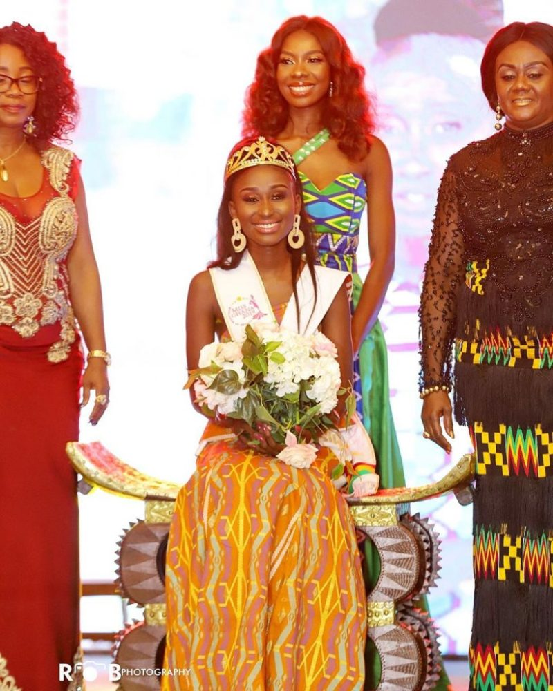 Miss Ghana 2019 Rebbecca Nana Adwoa emerged winner