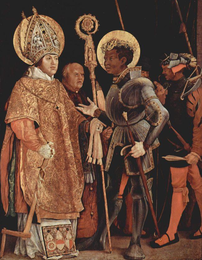 black Saint Maurice