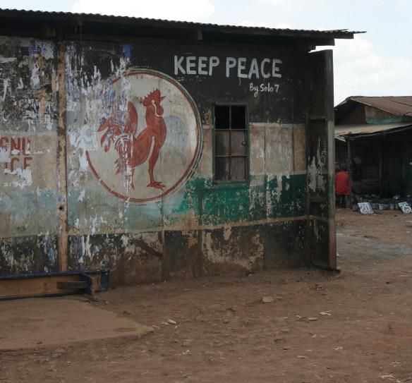 Old Party Office in Kibera