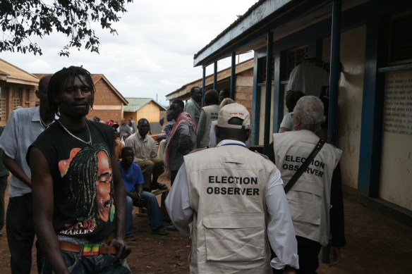 International Election Observation Mission IRI Kenya Kibera Lavington Nairobi 2007