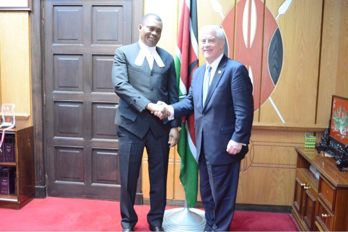 Kenya visit by IFES President Bill Sweeney March 2017