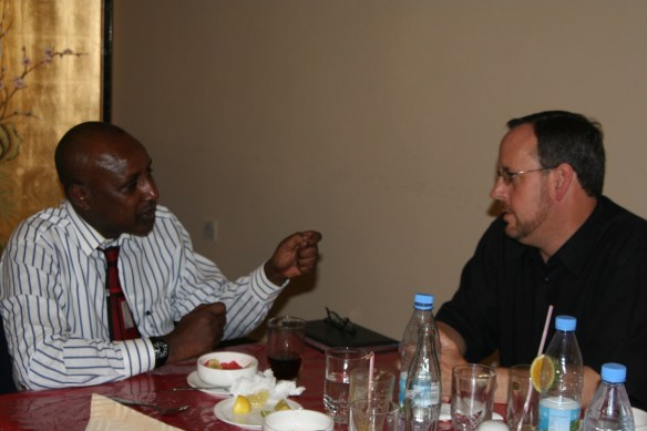 Somaliland Foreign Minister Abdilahi Mohamed Dualeh lunch dialogue Hargeisa