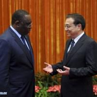 Chine: Le PM chinois rencontre le président sénégalais