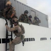 La marine américaine a pris le contrôle en Méditerranée d'un pétrolier contrebandier